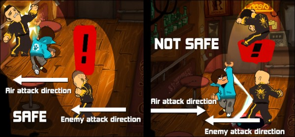 Combo Crew Air Attack explanation